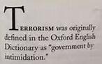 terrorist def